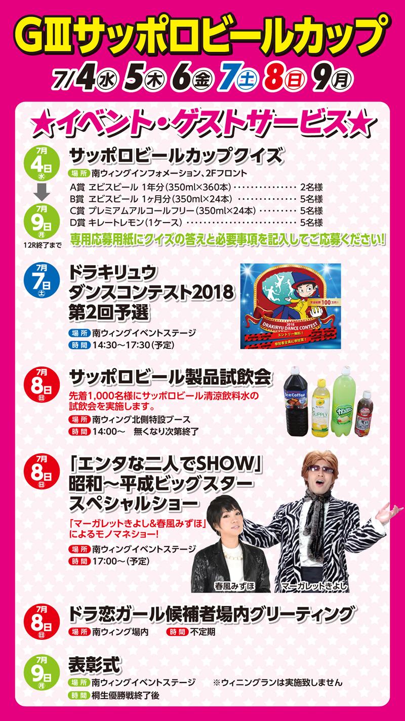 桐生G3サッポロビールカップのイベント情報