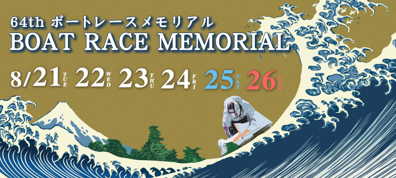 【競艇予想・丸亀】SG第64回ボートレースメモリアル(2018.8.27)最終日の買い目はコレ!