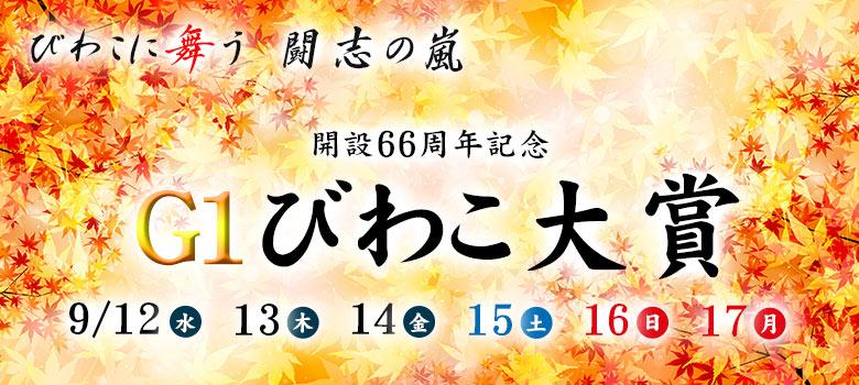 【競艇予想・びわこ】G1びわこ大賞-開設66周年記念(2018.9.17)最終日の買い目はコレ!