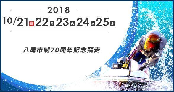 【競艇予想・住之江(10/22)】八尾市制70周年記念競走(2018)2日目の買い目はコレ!