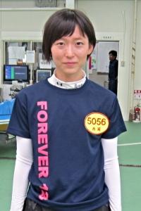 123期徳島支部新人選手・西岡成美(ニシオカ ナルミ)選手