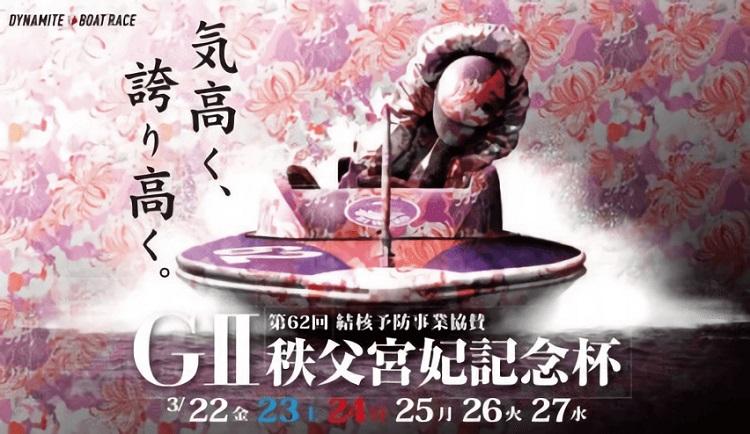【びわこ競艇予想(3/27)】G2秩父宮妃記念杯(2019)最終日の買い目はコレ!