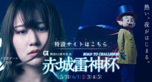 【桐生競艇】G1赤城雷神杯(2019.5.31~)の事前展望と注目選手