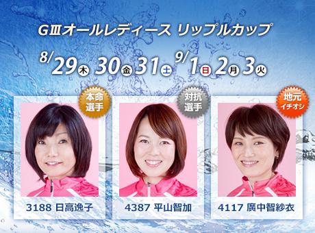 【多摩川競艇予想(9/3)】G3オールレディースリップルカップ(2019)最終日の買い目はコレ!
