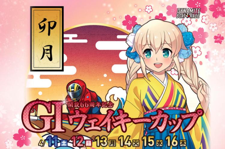 【多摩川競艇予想(4/16)】G1ウェイキーカップ(2020)最終日の買い目はコレ!