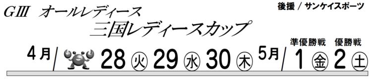 【三国競艇予想(5/01)】三国レディースカップ(2020)5日目の買い目はコレ!