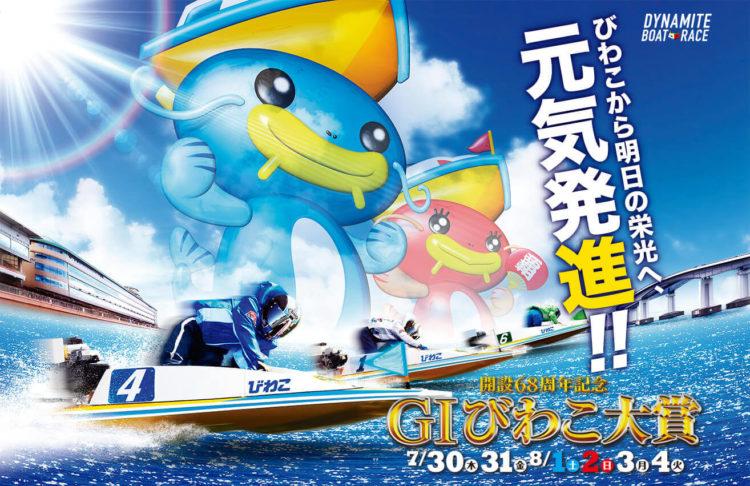 【びわこ競艇予想(8/4)】G1びわこ大賞(2020)最終日の買い目はコレ!